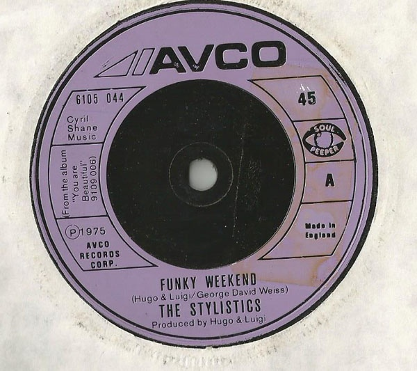 Stylistics, The - Funky Weekend
