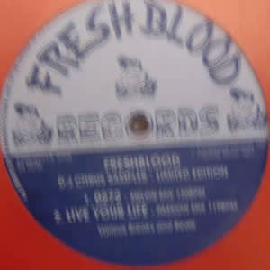 FRESHBLOOD - DJ CITRUS SAMPLER (LIMITED EDITION)