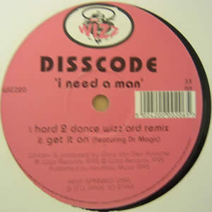 DISSCODE - I NEED A MAN
