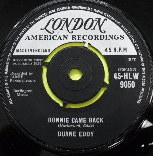 Duane Eddy - Bonnie Came Back