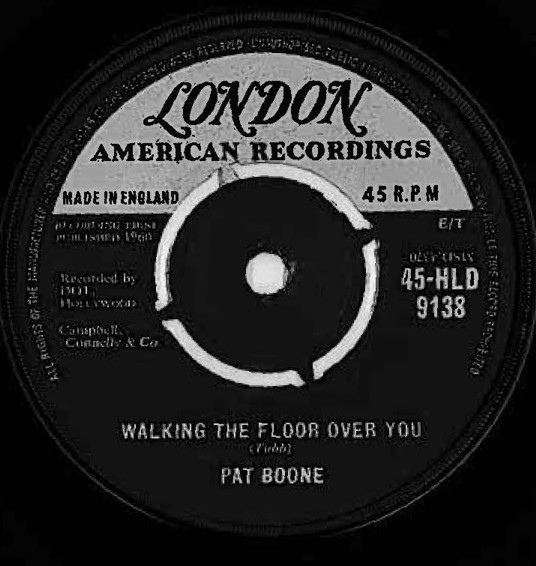 Pat Boone - Walking The Floor Over You