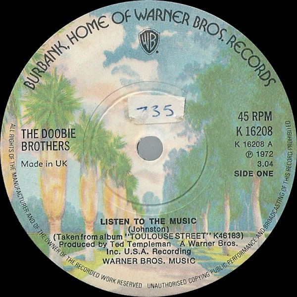 Doobie Brothers, The - Listen To The Music