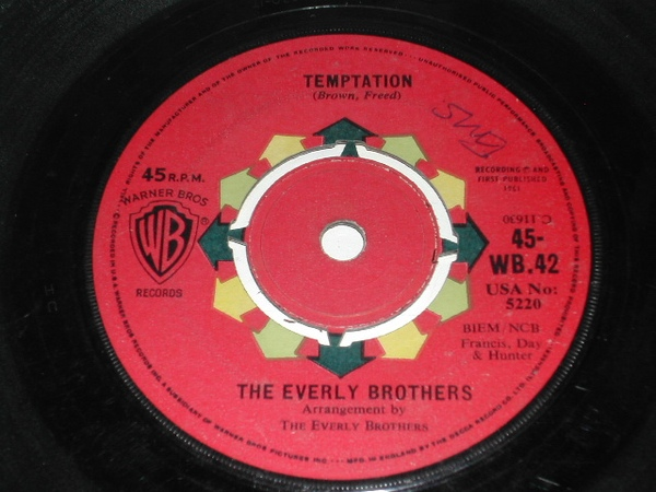 Everly Brothers, The - Temptation
