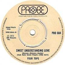 Four Tops -  Sweet Understanding Love / Main Street People