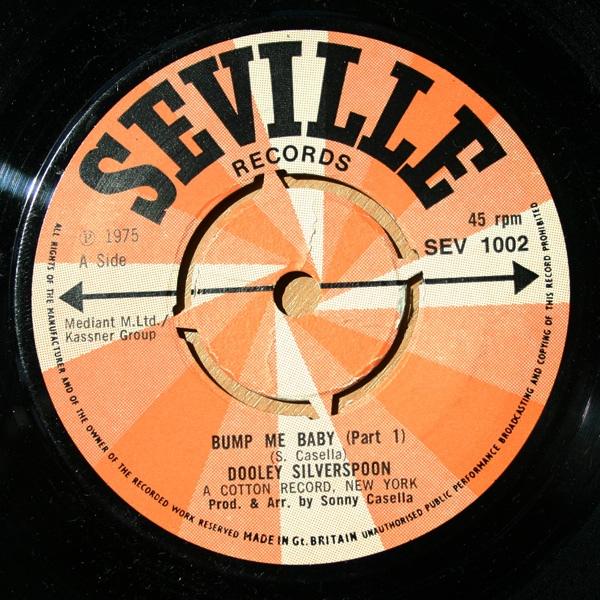 Dooley Silverspoon - Bump Me Baby