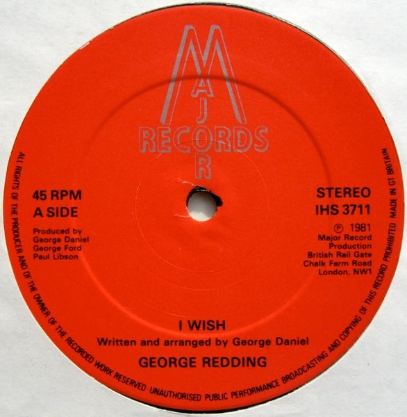 George Redding - A Wish