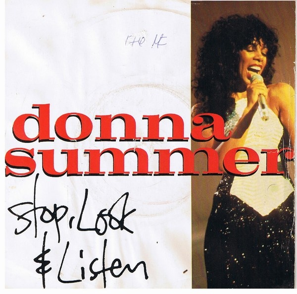 Donna Summer - Stop, Look & Listen