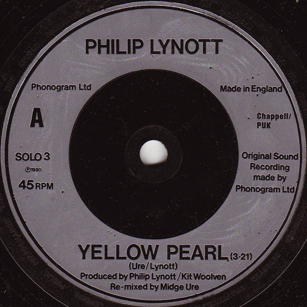 Philip Lynott - Yellow Pearl