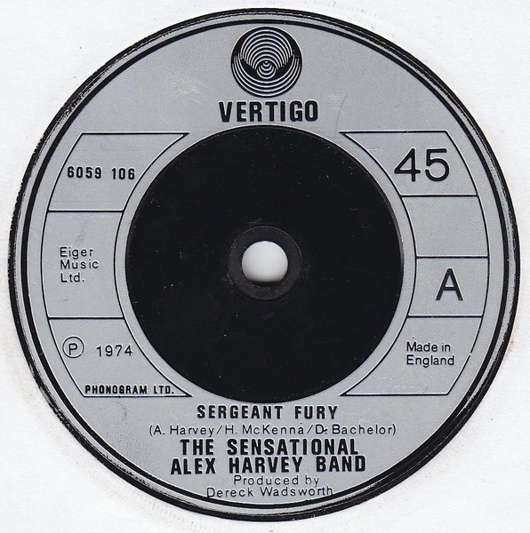 Sensational Alex Harvey Band, The - Sergeant Fury