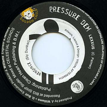 Lexxus / Alley Cat - Pressure Dem / Pretty Girl