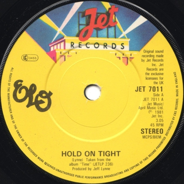 Electric Light Orchestra - Hold On Tight