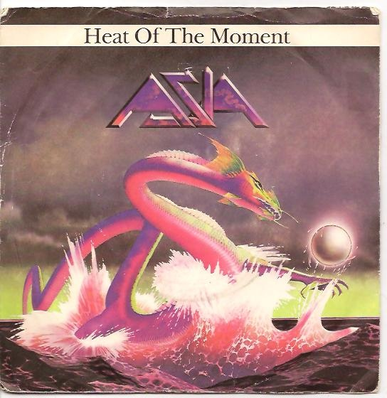 Asia Heat Of The Moment Records, LPs, Vinyl And CDs