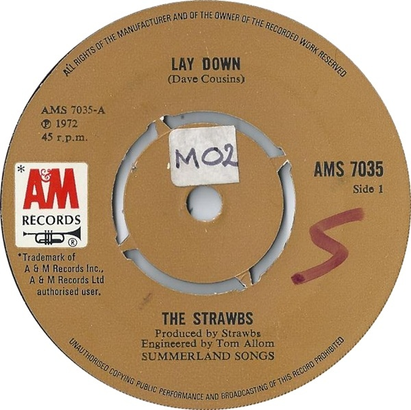 Strawbs, The - Lay Down