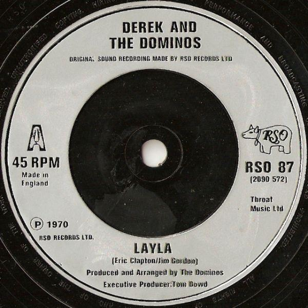 Derek & The Dominos / Eric Clapton - Layla / Wonderful Tonight (Live Version)