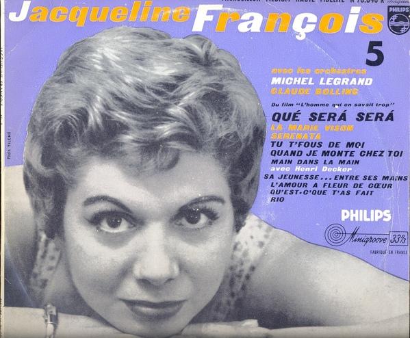 Jacqueline Fran?ois Avec Michel Legrand - N? 5