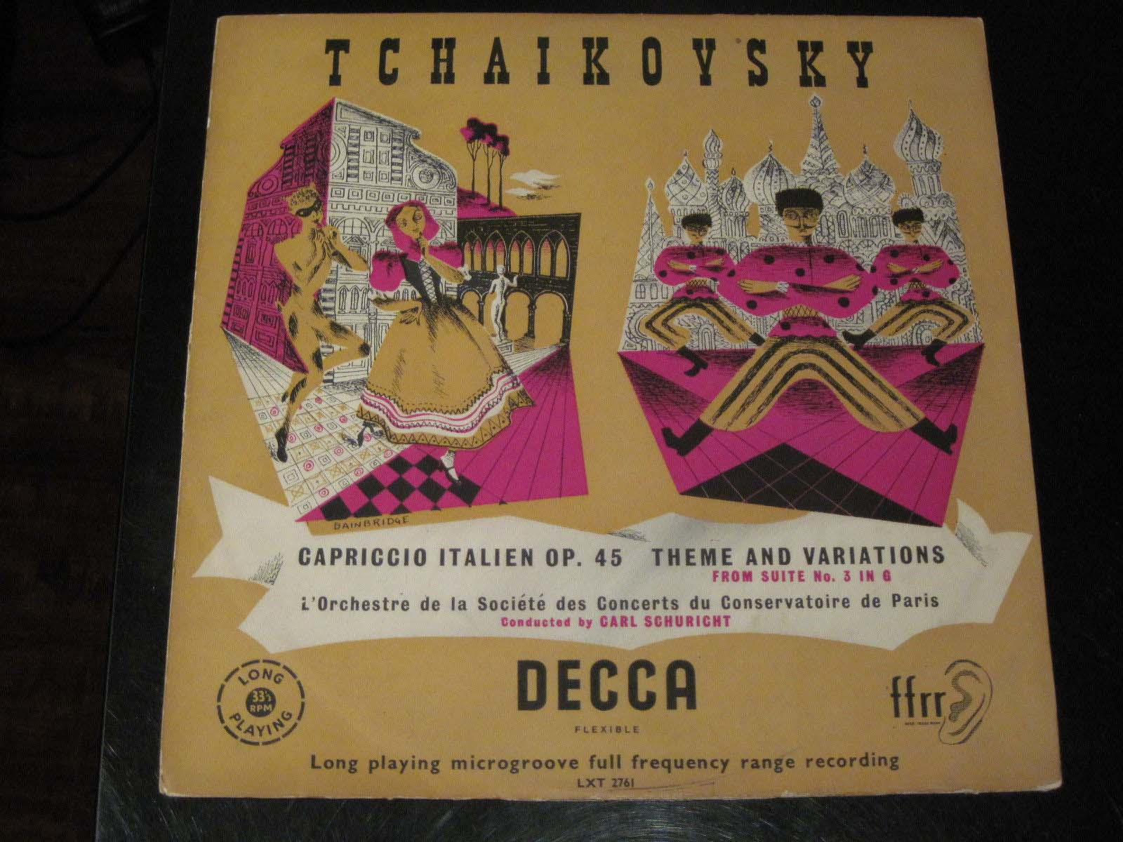 Tchaikovsky - Capriccio Italien Op.45 Theme and Variations