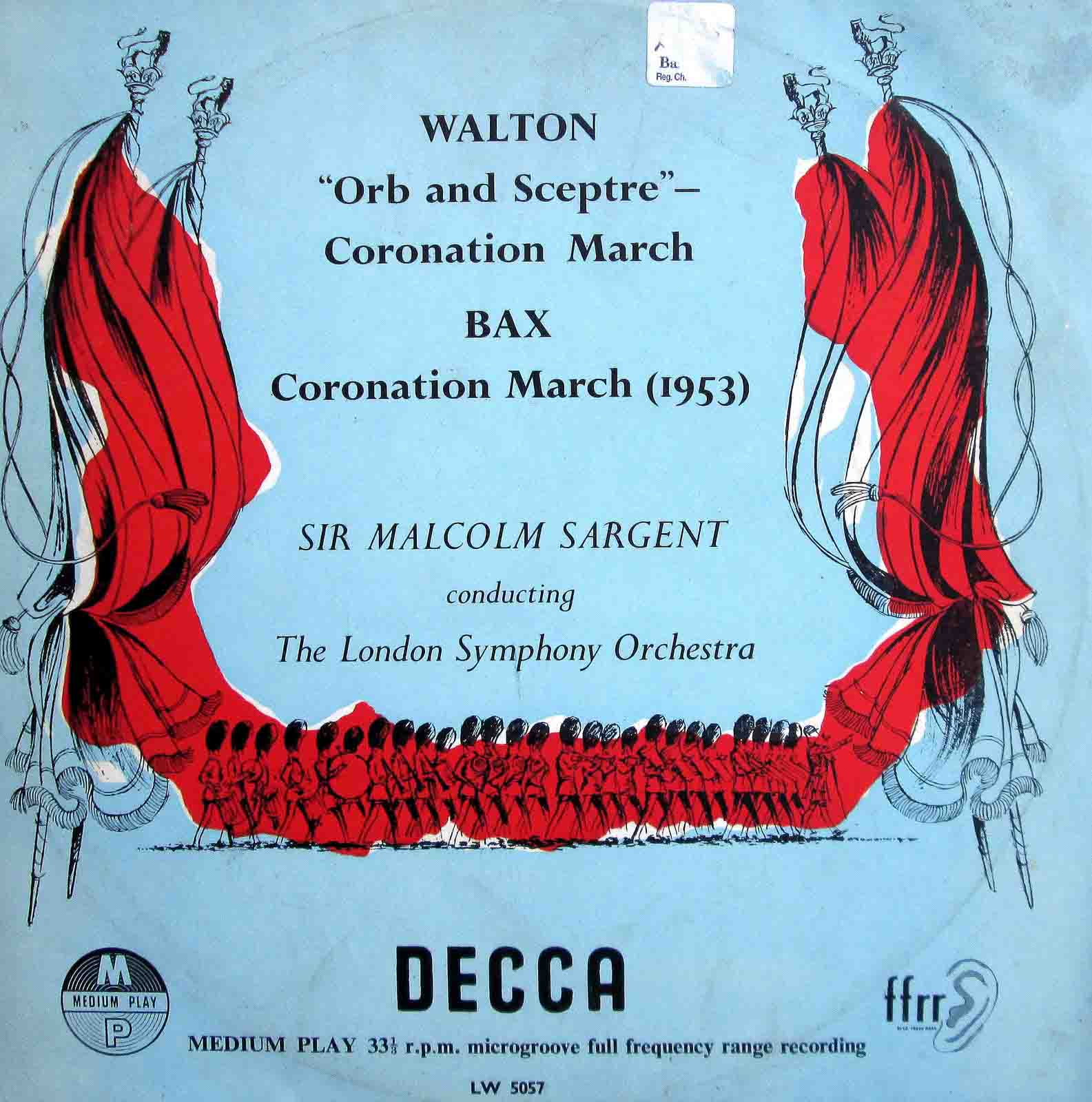 Walton - Sir Malcolm Sargent - Orb & Sceptre - Coronation March