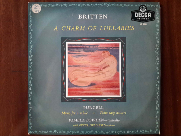 Britten - Purcell - CHARM OF LULLABIES - MUSIC FOR A WHILE