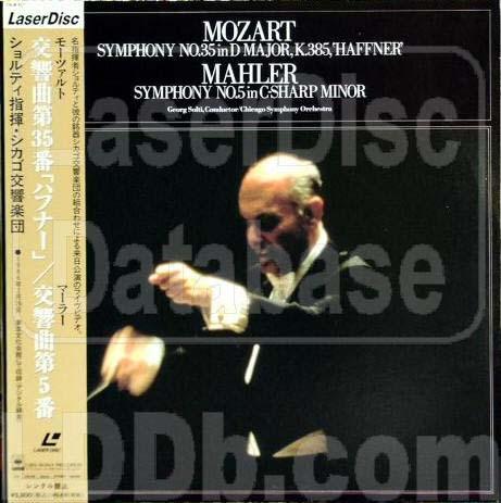 Mozart; Gustav Mahler; Chicago Symphony Orchestra. - Symphony No 35 in d Major K385 Haffner