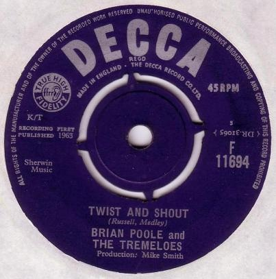 Brian Poole And The Tremeloes - Twist And Shout