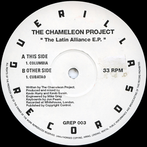 THE CHAMELEON PROJECT - THE LATIN ALLIANCE EP