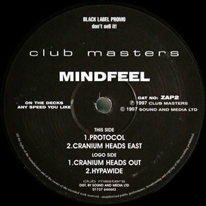 MINDFEEL - CRANIUM HEADS OUT EP