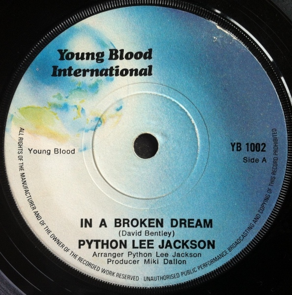 Python Lee Jackson - In A Broken Dream
