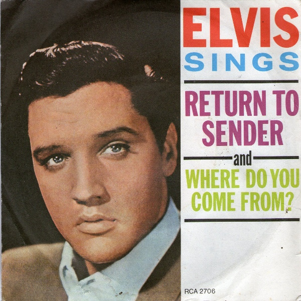 Elvis Presley With Jordanaires, The - Return To Sender