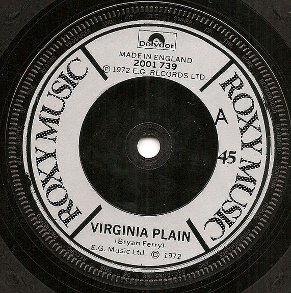 Roxy Music - Virginia Plain / Pyjamarama