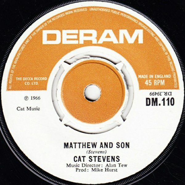 Cat Stevens - Matthew And Son