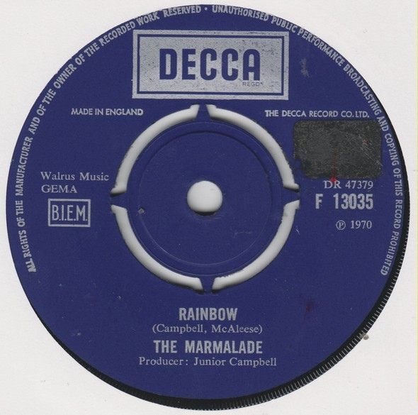 Marmalade, The - Rainbow