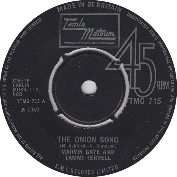 Marvin Gaye & Tammi Terrell - The Onion Song