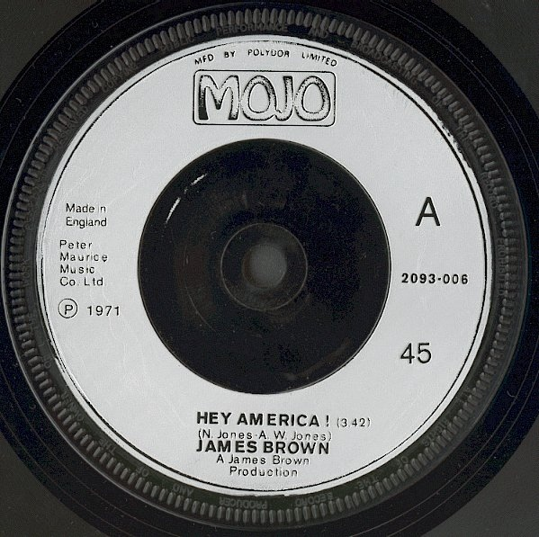 James Brown - Hey America ! / Brother Rapp (Part 1)
