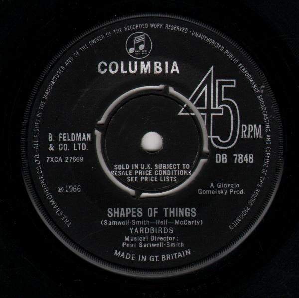 Yardbirds -  Shapes Of Things