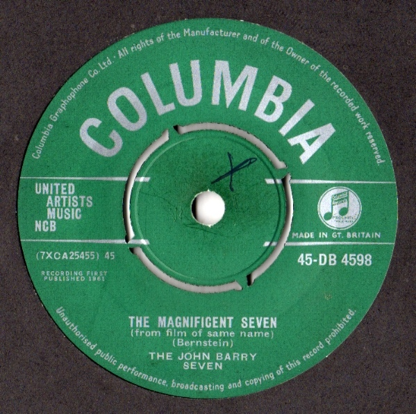 John Barry Seven, The - The Magnificent Seven