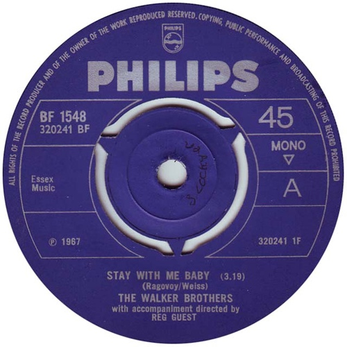 Walker Brothers, The - Stay With Me Baby