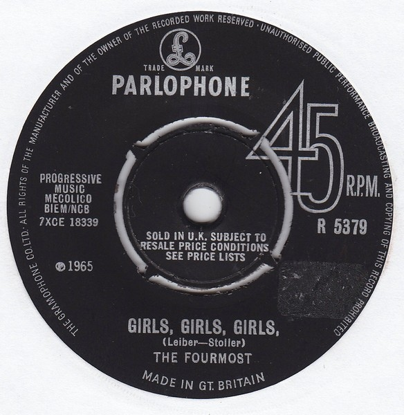 Fourmost, The - Girls, Girls, Girls
