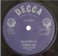 Curved Air ? - Back Street Luv