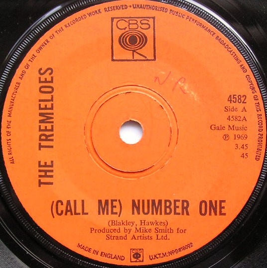 Tremeloes, The - (Call Me) Number One