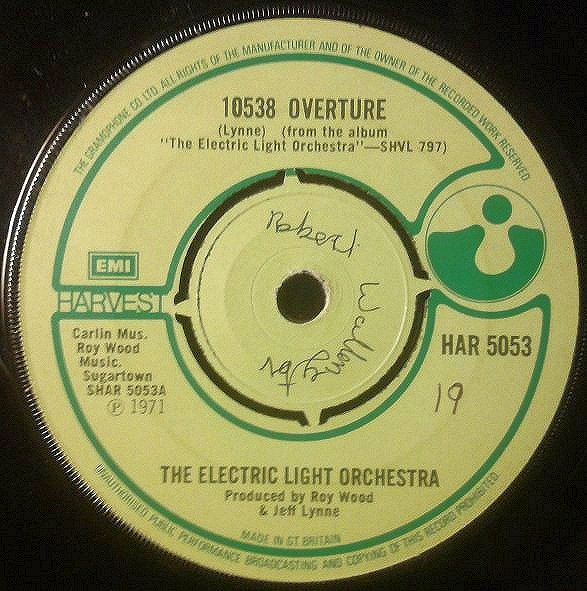 Electric Light Orchestra, The - 10538 Overture