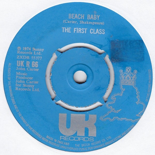 First Class, The - Beach Baby