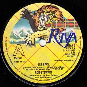 Rod Stewart - Get Back