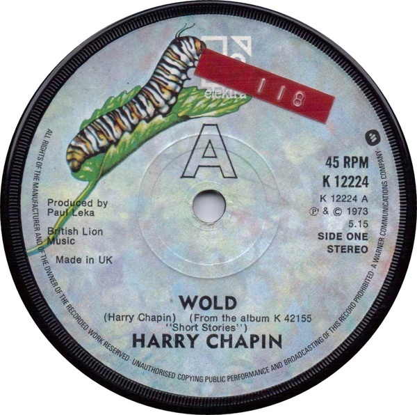 Harry Chapin - Wold / Cats In The Cradle