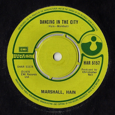 Marshall, Hain - Dancing In The City