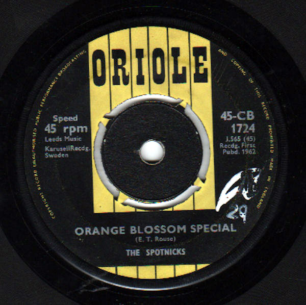 Spotnicks, The - Orange Blossom Special