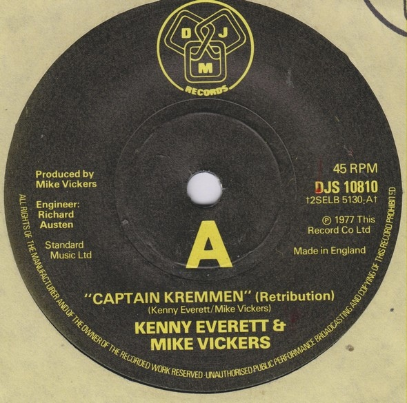 Kenny Everett & Mike Vickers - Captain Kremmen