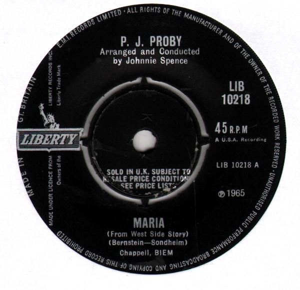 P.J. Proby - Maria