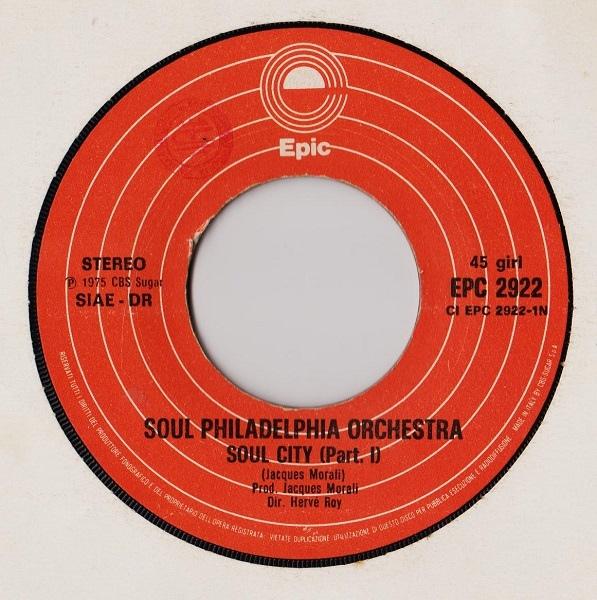 Soul Philadelphia Orchestra - Soul City