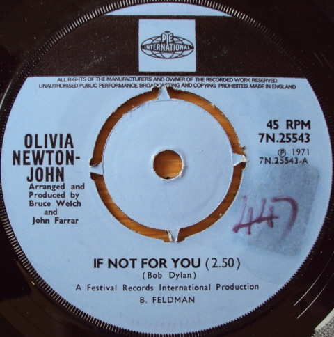 Olivia Newton-John -  If Not For You / The Biggest Clown