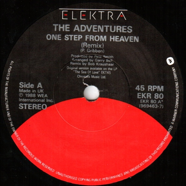 Adventures, The - One Step From Heaven
